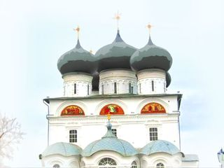 Cafedral church in Kirov monastery